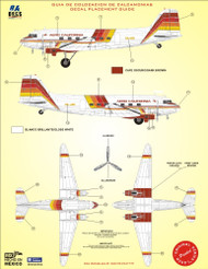 1/144 1/72 Scale Decal Aero California DC-3