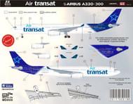 1/144Scale Decal Air Transat A330-300 2014
