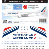 1/144 Scale Decal Air France A-350