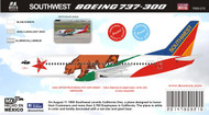 1/144 Scale Decal Southwest 737-300 California One