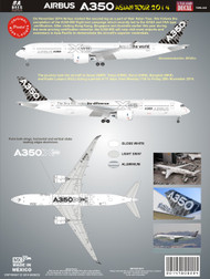 1/144 Scale Decal A-350 XWB Test Plane