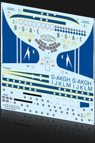 1/72 Scale Decal BOAC Stratocruiser