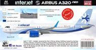 1/144 & 1/200 Scale Decal Interjet A-320 NEO