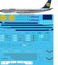 1/144 Scale Decal Lufthansa Boeing 707-330 / 430