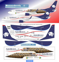 1/200 Scale Decal Aeromexico B737-800