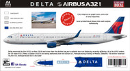 1/144 Scale Decal Delta A-321
