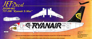 1/200 Scale Decal Ryanair 737-200 X-Mas