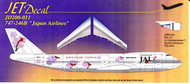 1/200 Scale Decal Japan Airlines 747-200