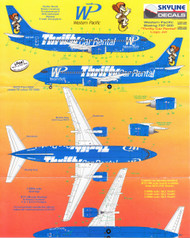 1/200 Scale Decal Western Pacific 737-300 Thrifty Car Rental