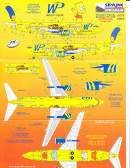 1/200 Scale Decal Western Pacific 737-300 The Simpson's