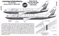 1/144 Scale Decal TWA 767-200 / 300 Last Livery