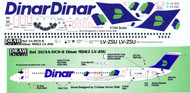 1/144 Scale Decal Dinar MD-82