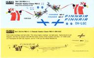 1/200 Scale Decal Finnair MD-11 Sana Claus