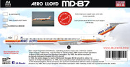 1/144 Scale Decal Aero Lloyd MD-87