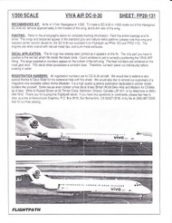 1/200 Scale Decal Viva Air DC9-30