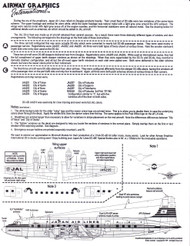 1/144 Scale Decal Japan Air Lines DC6-A / B