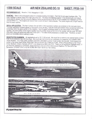 1/200 Scale Decal Air New Zealand DC-10
