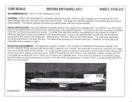 1/200 Scale Decal British AirTours L-1011