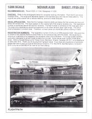 1/200 Scale Decal Novair A-320