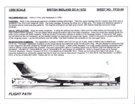 1/200 Scale Decal British Midland DC9-15 / 32
