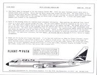 1/126 Scale Decal Delta Airlines Convair 880 (Glencoe)