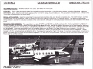 1/72 Scale Decal USAir Express BAe 31 Jetstream
