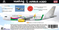 1/144 Scale Decal Vueling  A-320 Cantabria