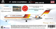 1/144 Scale Decal Aero California DC9-15