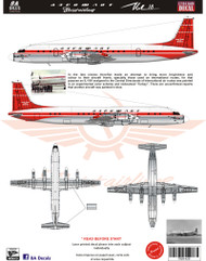 1/144 Scale Decal Aerflot IL-18 Experimental