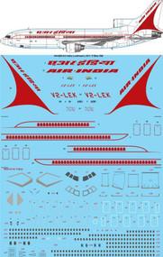 1/144 Scale Decal Air India Lockheed L-1011- 500
