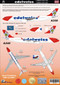 1/144 Scale Decal Edelweiss A-340-300 & A330-200