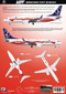 1/144 Scale Decal LOT 737-8 MAX INDEPENDENCE Livery