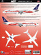 1/144 Scale Decal LOT 787-9 INDEPENDENCE Livery
