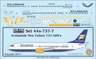 1/144 Scale Decal Icelandair 737-400