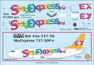 1/144 Scale Decal SkyExpress 737-300