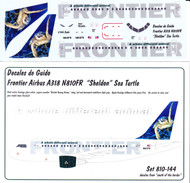 1/144 Scale Decal Frontier A-318 Sea Turtle