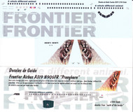 1/144 Scale Decal Frontier A-319 Pronghorn