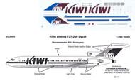 1/200 Scale Decal KIWI 727-200