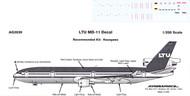1/200 Scale Decal LTU MD-11