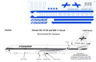 1/200 Scale Decal Finnair DC-10 / MD-11