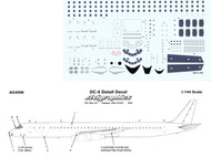 1/144 Scale Decal Detail Sheet DC-8