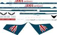 1/144 Scale Decal BEA Airtours 707