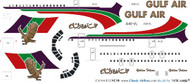 1/144 Scale Decal Gulf Air VC-10 Golden Falcon