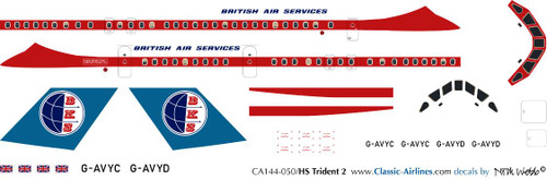 1/144 Scale Decal BKS Trident
