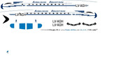 1/144 Scale Decal Channel Airways BAC-111