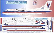 1/144 Scale Decal American Eagle ATR-42