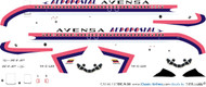 1/144 Scale Decal Avensa / Aeropostal DC9-30