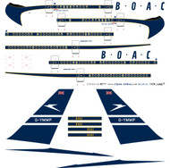 1/144 Scale Decal British Airways 777 Retro BOAC