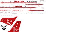 1/144 Scale Decal Qantas 707 VJet
