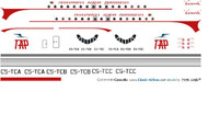 1/144 Scale Decal TAP Portugal Caravelle